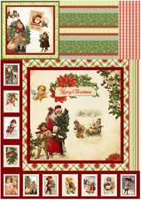 Decoupage-Serviettentechnik-Softpapier-Vintage-Nostalgie-Weihnachten-12199