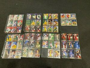 Lot of 1990's Futera Cricket Cards in Ultra Pro Sleeves - Some Inserts