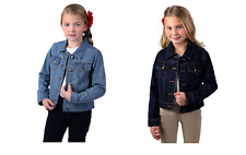 NEW Jona Michelle Girls' Button up Denim Jacket - VARIETY