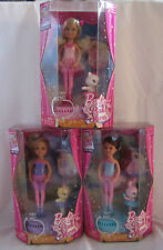 Barbie in The Pink Shoes Lot Set of 3 Chelsea Kelley Kelly Dolls and Friends
