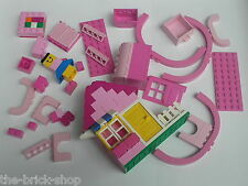 Lot vrac LEGO rose pour filles girl / Pink / Paradisia belville freestyle friend