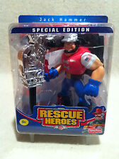 Rescue Heroes Special Edition Jack Hammer Factory Sealed!