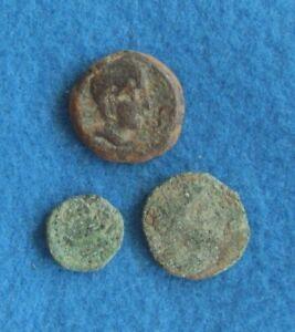 3 Castulo, Gades /Spain 2nd to 1st cent.B.C.RARE!!!!