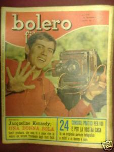 MORANDI BOLERO FILM 22 NOVEMBRE 1964 N°916
