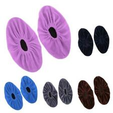 5 Pairs Unisex Shoe Covers Washable Reusable Anti Slip Overshoes For Indoors