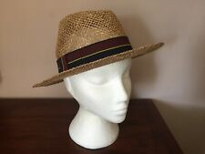 Panama Hat dall/'Ecuador 100/% Naturale Unisex Paglia Sole Estivo Cappello-ihats LONDON UK