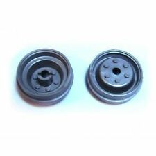 Wedico 1/16th Grey Truck Wheels. 1pr
