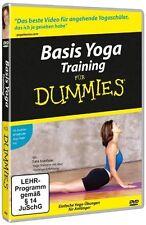 Basis Yoga Training für Dummies - Einstieg zum Einklang von Geist u.Körper (DVD)