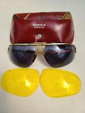 Vintage 60's Baruffaldi Sunglasses W/ Original Case & Extra Lenses Made In Italy