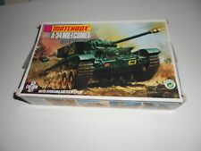 Matchbox 1 76 Scale A-34 Mk-i Comet Tank Kit With Diorama Battle Display - Pk-72