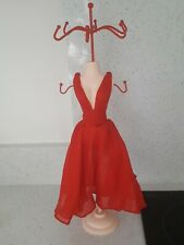 BN Red Dress Maniquin Dressing Table Jewellery Stand