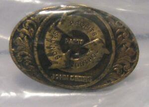 John Deere Parts Savings Profits Employee Hat Lapel Pin Farm Ag Badge JD tie