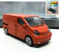 Majorette Renault Traffic Red 1/64 239B no Package
