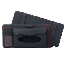 Car Interior Card CD Holder Organizer Tissue Box Stowing Tidying Bag for Visor