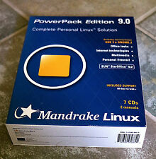 Mandrake 9.0 Powerpack Linux
