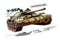Tamiya Military Model 1/35 T-55A Russian Medium Tank Scale Hobby 35257