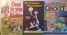 Cricket,  x 3 Humour Books, Includes...  Over To You Richie,...   GC   FREE POST