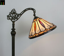 EOFY Special 12'' Hanging Floor Lamp Tiffany Felice Stained Glass Light