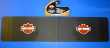 Harley Davidson Rear Runner Rubber Floor Mat Orange Logo Truck SUV VAN
