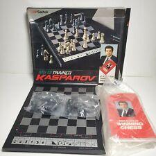 1990 Saitek MK12 Trainer Kasparov Chess Computer with Box Game Electronic Vtg