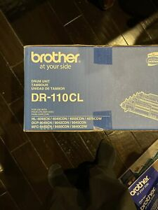 BRAND NEW GENUINE OEM BROTHER DR-110CL DRUM UNIT FREE SHIPPING