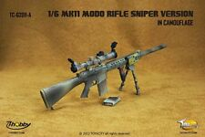 TOYSCITY 1/6 Scale MK11 MOD0 Rifle Sniper Version In Camouflage Model TC-62011-A