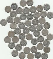 Trinidad and Tobago 10 Cents 1970s - 2000s Lot of 51