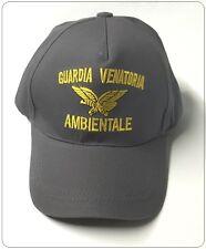 Berretto Baseball Cap con Logo Ricamato Guardia Venatoria Ambientale con Logo Ar