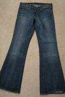 - Womens Jeans size 28 Citizens of Humanity ingrid 002 low waist flair boot cut