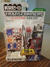 Transformers Kre-O Custom Kreon Combiners 41Pcs Optimus Prime Rare