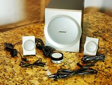 Bose Companion 3 Series I PC Speaker System - tested & works - great bass