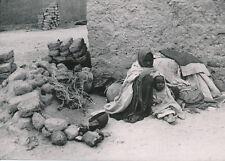 SAHARA c. 1935 - Femme et Enfant à Tamanrasset Algérie Ph. Griaule - P425