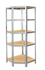 shelfplaza® HOME Eckregal 180x70x40 für 40er Tiefe - Garage Hobby Keller Lager