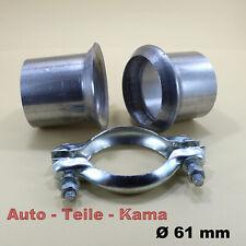 Reparaturset für Abgasanlage ,Reparaturflansch , Auspuff Reparatursatz , Ø 61 mm