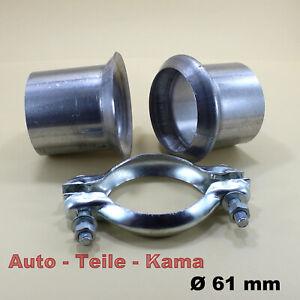 Repair Set For Exhaust System, Reparaturflansch, Exhaust Repair Kit, Ø 2 13/32in