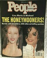 MICHAEL JACKSON'S PERSONALLY OWNED COPY OF HIS 8/15/94 COVER ISSUE OF PEOPLE MAG