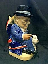 Winston Churchill Limited Edition Character Jug by Kevin Francis
