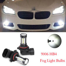 2PC 9006 HB4 COB LED Fog Light Bulb For Toyota Camry 2002-2006 Corolla 2005-2008