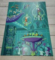 Disney Parks SHAG THE BIRDS SING Enchanted Tiki Room LE Canvas Wrap Giclee