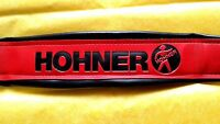 HOHNER  BASS STRAPS RED AND BLACK.  BRAND NEW (CORREA DE BAJO)