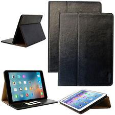 Luxury funda protectora Apple iPad pro 10,5 Tablet bolso cover case PU Cuero Negro