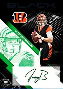 Panini NFL Blitz Joe Burrow DIGITAL Autograph Card