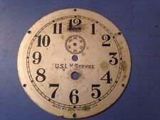 Vintage Seth Thomas USLH Service Ships Clock Dial Lighthouse Service