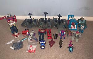 Vintage Transformers G1 Bundle Job Lot - Prime Trucks X3 No Reserve