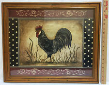 Rooster Framed Home Décor Posters