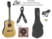 Eko NXT D XII EQ Black Chitarra acustica 12 Corde Amplificata