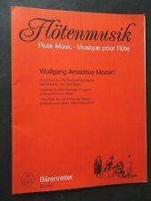 W.A. Mozart 4 Flöten Ouvertüre zu Hochzeit des Figaro sehr guter Zustand