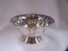 Reed & Barton Bowl Salem 1603 Bon Bon Bowl Antique Silverplate
