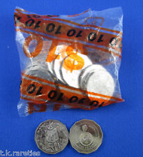 2016 50c Fifty Cent Australian Coin 50th Anniversary of Decimal UNC Bag of 20