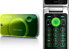 Sony Ericsson T707 - Green Flip - Mobile Phone